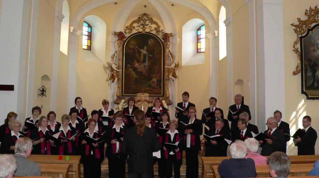 8.5. 2013 Zábřeh, sv. BArbora - koncert pro Lukáška