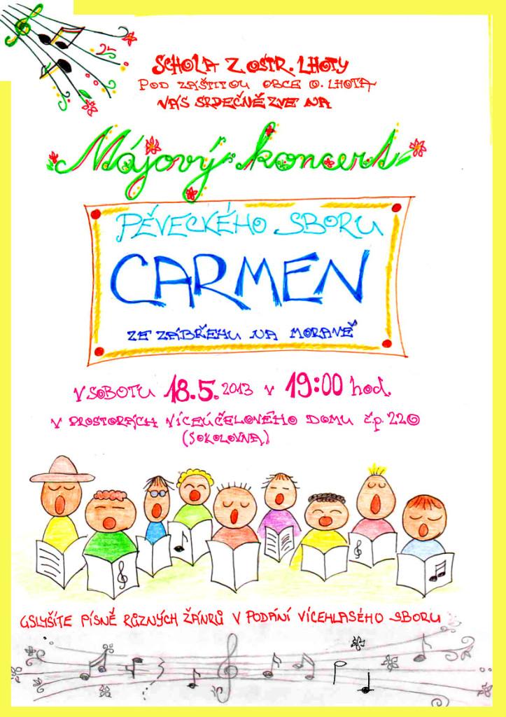 Koncert v muzeu v Ostrožské Lhotě 18.5.2013